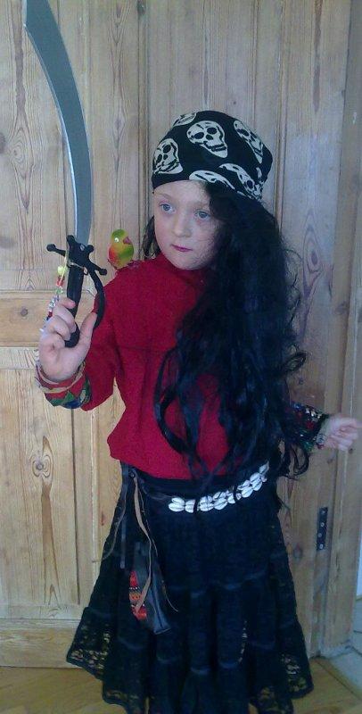 Fastelavn som pirat