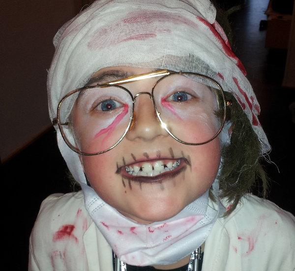 Halloween med doktor Zombie