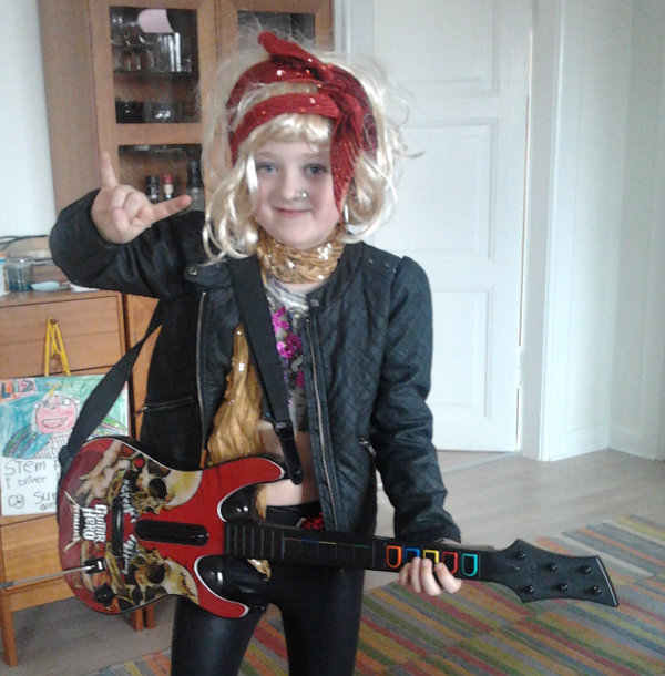 Rock star fastelavn